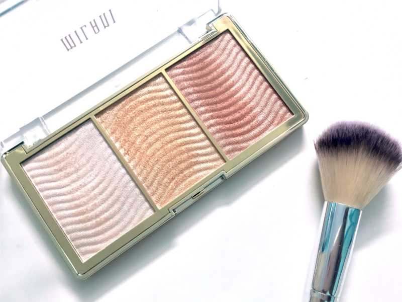 Milani Stellar Lights Highlighter Palette Rose Glow 03 Review, Swatches