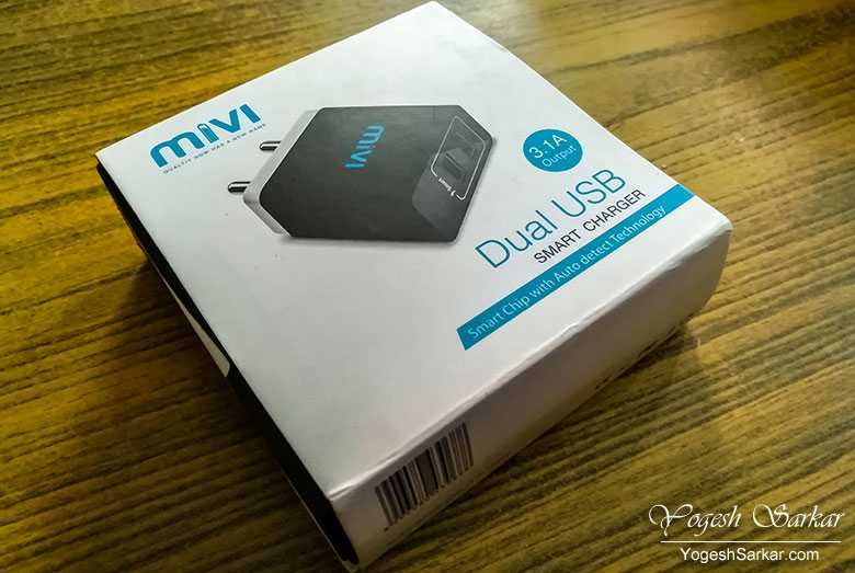 Mivi Dual Port USB Charger Review