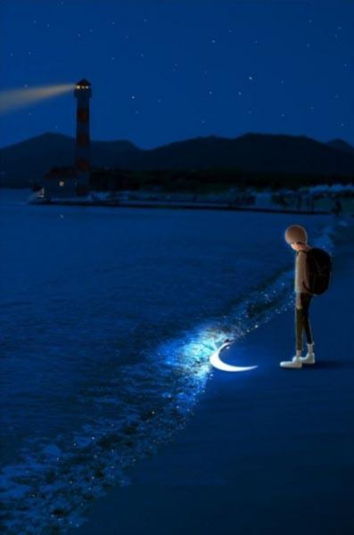 Muhammad Tanzeel Ur Rehman Blogs Moon On Earth Imagination Dp