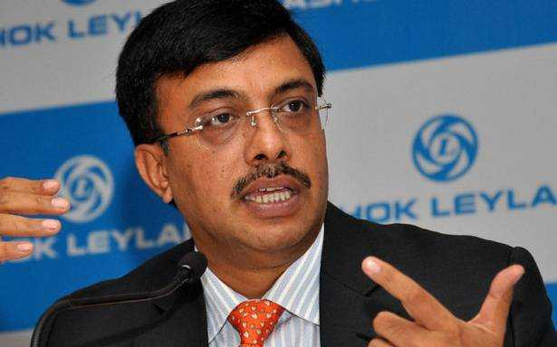 Mr. Vinod Dasari, MD And CEO Of Ashok Leyland Resigns