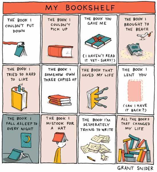 My Bookshelf Challenge