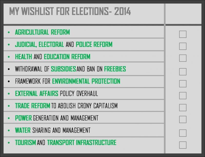 My Experiment- Lok Sabha 2014
