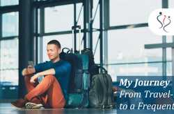 my journey - from a travel phobic to a frequent flyer