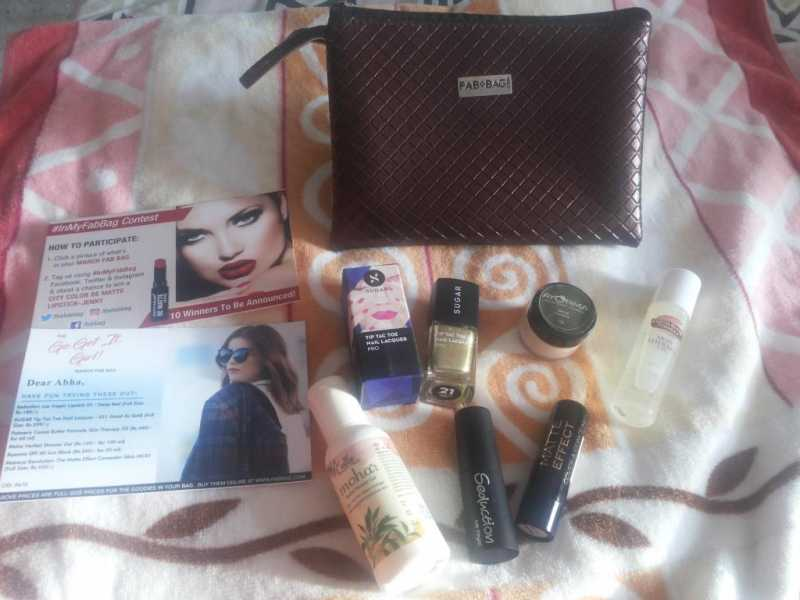 My March 2017 Fab Bag