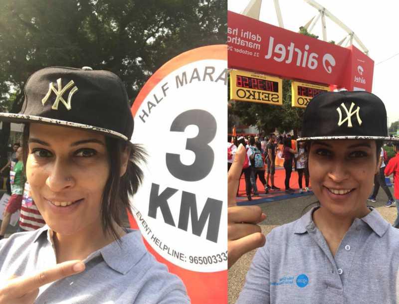 My First Time Running The Airtel Delhi Half Marathon!