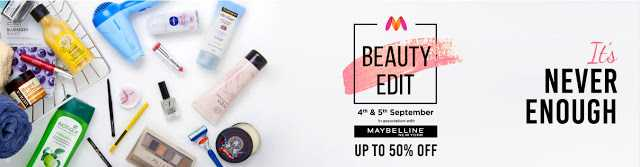 Myntra Beauty Edit September 2018: What To Pick Up