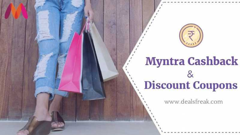 Myntra Cashback Offers Sep 2018, Discount Coupons (Save HUGE)