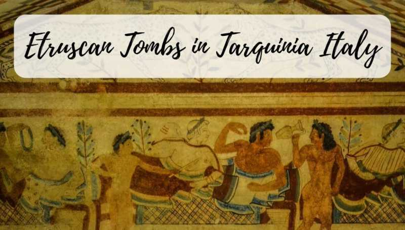 Mysterious Etruscan Tombs Of Tarquinia - A Day Trip From Rome - STORIES BY SOUMYA