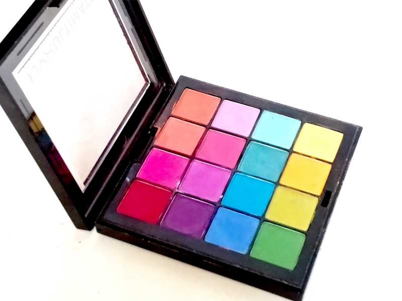 NYX Brights Ultimate Shadow Palette Review, Swatches