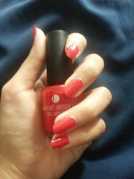 Nail Of The Day (NOTD) Lakme Absolute Gel Stylist Nail Polish