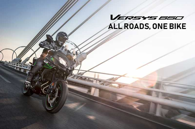 New 2019 Kawasaki Versys 650 MY Launched In India