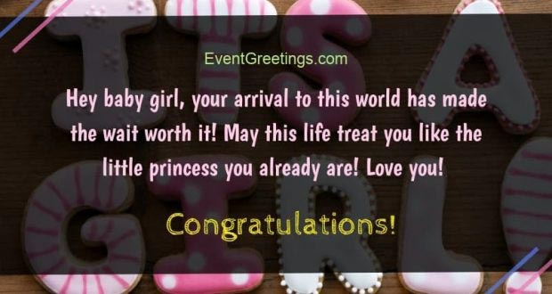 Chris Mathur Blogs New Baby Girl Wishes Quotes And Congratulation