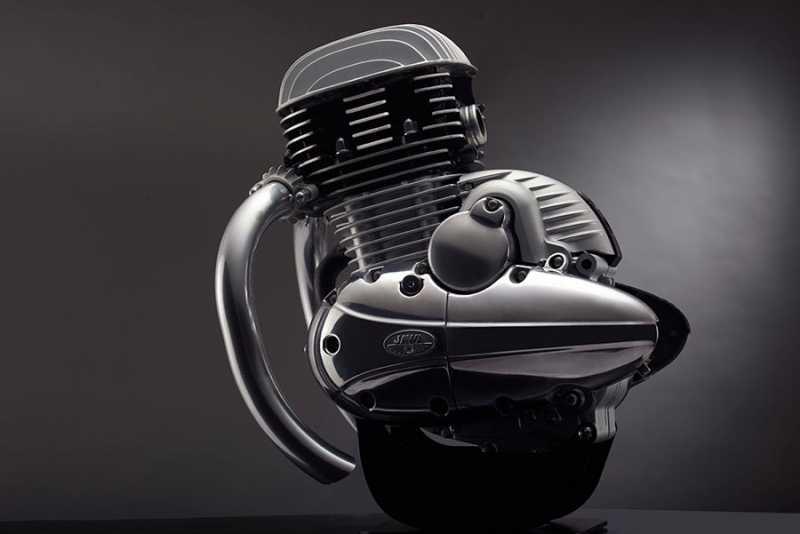New JAWA Motorcycle Engine Unveiled - 300cc Engine 27 Bhp