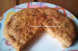 No Knead Cheese Focaccia