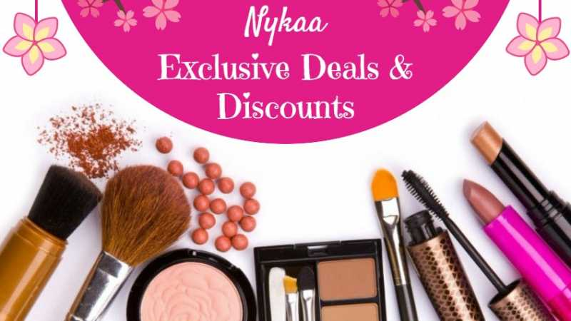 Nykaa Beauty Offers: Exclusive Deals & Discounts (August 2018)