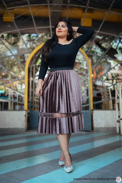 OOTD: Pleated Skirt Love, Indian Fashion Blog