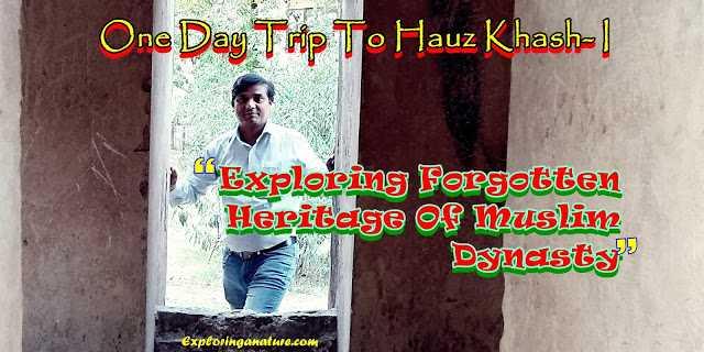 One Day Trip To Hauz Khash I : Exploring Forgotten Heritage Of Muslim Dynasty