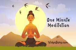 one minute meditation #atozchallenge #mindfulliving | vidya sury, collecting smiles