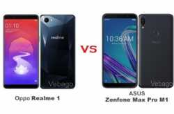 Oppo Realme 1 vs Asus Zenfone Max Pro M1: Price in India, Features, Specifications Compared