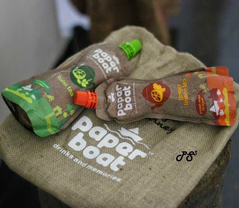 Over A Cold Cuppa - Paper Boat (Tulsi Tea / Ginger Lemon Tea) - {A Product Review}