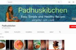 padhuskitchen on youtube