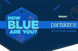 pantaloons to turn blue and cheer for india with