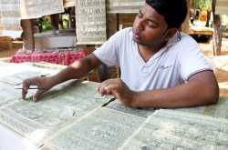 Patachitra - The art of engraving on Palm Leaves
