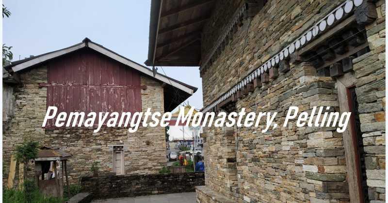 Pemayangtse Monastery, Pelling