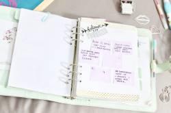Planner Set-Up - Bullet Journal cum Ring-Bound - Love Fashion Makeup
