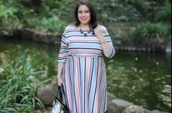 Plus Size Fashion   Sorbet Stripes