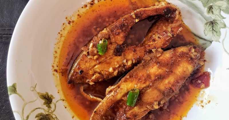 Pomfret Vindaloo | Pomfret Curry