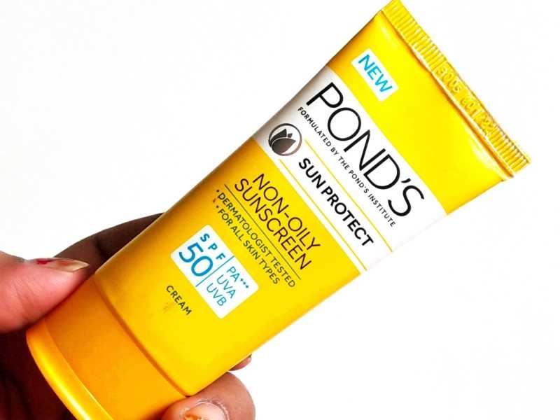 Ponds Sun Protect Non-Oily Sunscreen SPF 50 Review