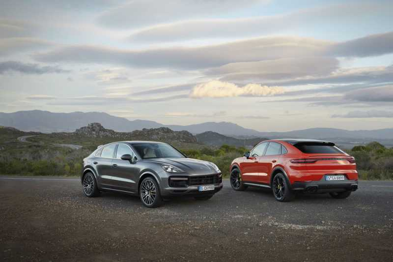 Porsche Adds Cayenne Coupe To Its SUV Range