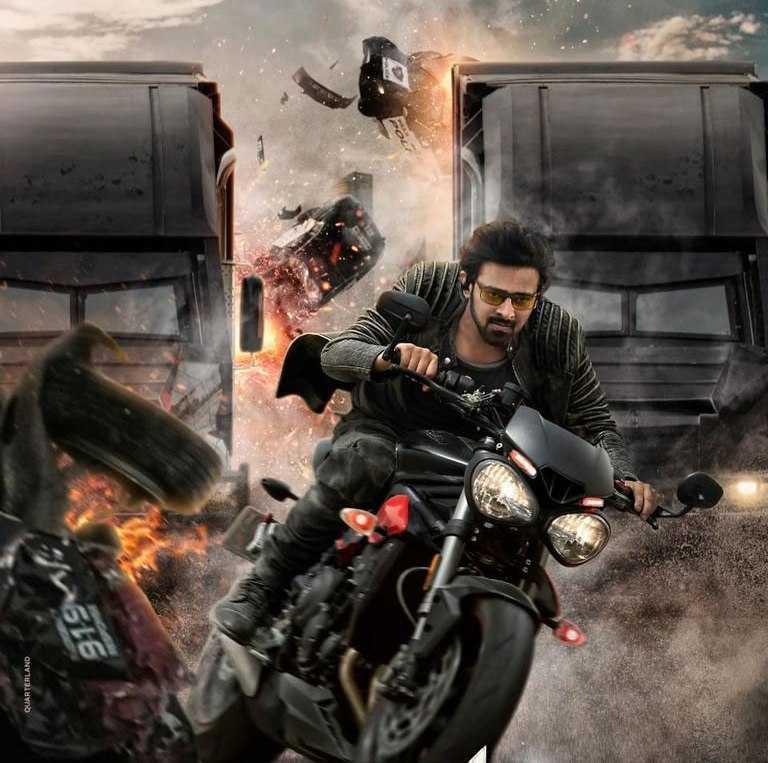 Prabhas Shraddha Kapoor Film Saaho Teaser Release Full Of Action And Stunts.