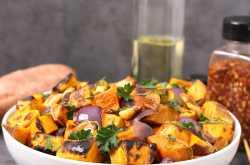roasted sweet potatoes - cook with kushi
