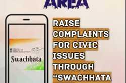 """Raise Complaint for Civic Issues through """"Swachhata APP"""""""