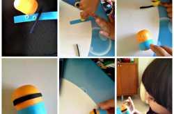 Recycle craft: Minion