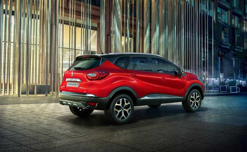 Renault CAPTUR Launched In Radiant Red Color - Gets New Roof Rails