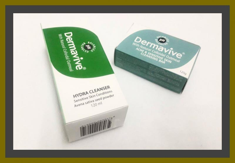 Review Of Dermavive Acne And Sensitive Skin Cleansing Bar & Hydra Cleanser.