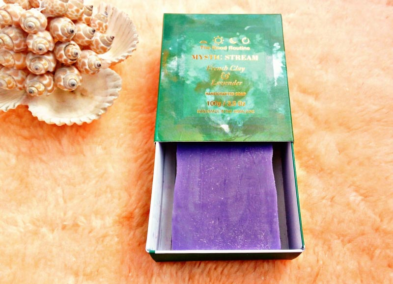 Review Of The Good Routine Handmade Soap  Mystic Stream French Clay & Lavender