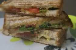 Roasted Broccoli and Cheese Sandwiches...oh my, yummm!!!