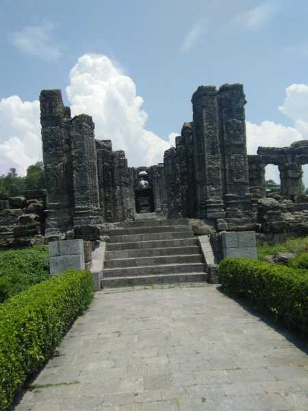 Ruins Of Sun Temple Kashmir