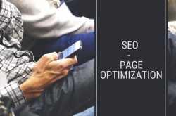 seo - page optimization