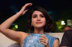 Samantha Hot Saree Photos At Rangasthalam Success Celebrations