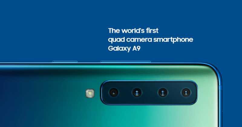 Samsung Galaxy A9 (2018) Is The World