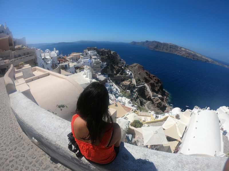 Santorini - A Perfect Familymoon