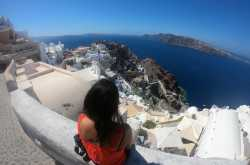 santorini - a perfect familymoon