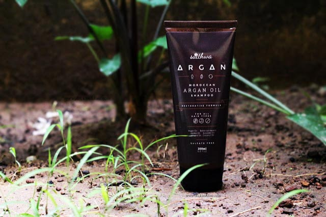 Satthwa Moroccan Argan Oil Shampoo Review: India