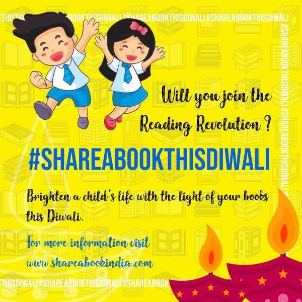Share A Book, Make A Child Read #WATWB @ShareABookIndia