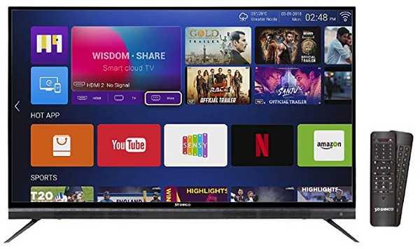 Shinco Smart TV Announced Special Deals On Amazon Sale | TechnoArea